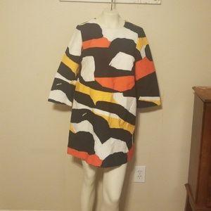 H&M dress color block